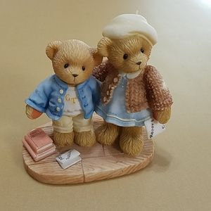 "Cherished Teddies ""Clement & Jodie, Try, Try & Try"